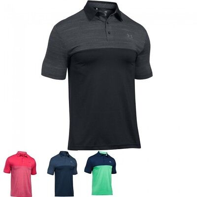 Under Armour 2017 Blocked Playoff Golf Polo Shirt 1297612