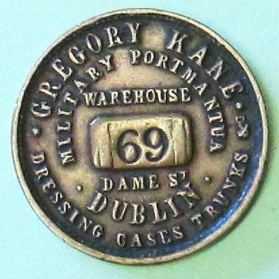 Ireland:  Unofficial Farthing Gregory Kane Warehouse 69 Dame St Dublin