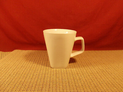 Home Trends Dinnerware Canopy White Square Mug 4 1/4""
