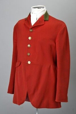 Foxhuntier's Master Of Foxhounds 1950s' Old Surrey And Burstow Hunt Jacket. CQM