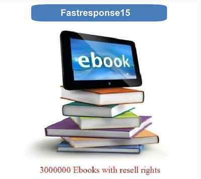 3,000,000 Ebooks and plr Articles |  Pdf Format   |   With Master Resell Rights