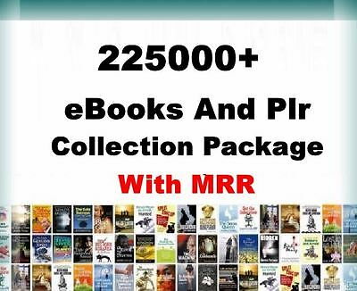 225000+ eBooks Package Collection  |  Pdf Format   |   With Master Resell Rights