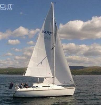 MG Spring 25 yacht sailing boat in Scotland
