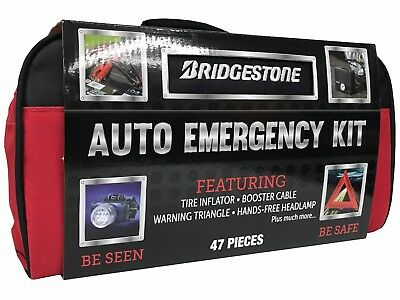 Bridgestone Auto Emergency Kit 47 Pieces