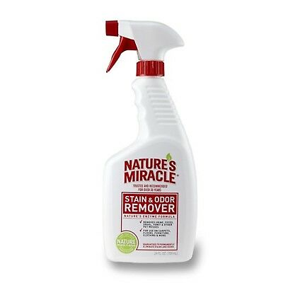 Nature's Miracle Stain & Odor Remover 24-Ounce Spray New