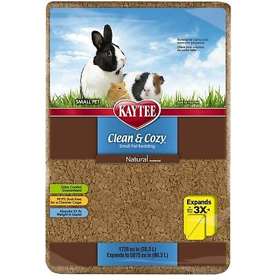 Kaytee Clean and Cozy 1728 cu. in. Pet Bedding Small Natural New