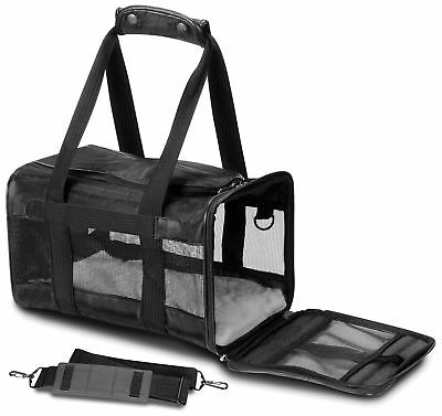 Sherpa 55531 Original Deluxe Pet Carrier Small with Black Trim New