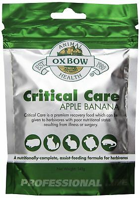 Oxbow Critical Care Apple/Banana Pet Supplement 141gm 141g New