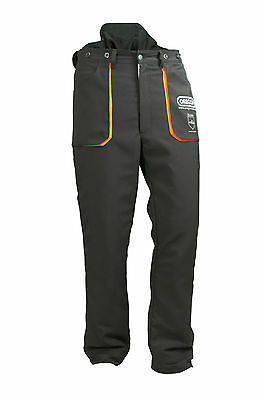 Oregon Yukon Protective Type A Class 1 Chainsaw Trousers S-3XL 295435