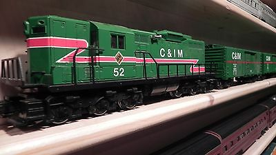 Lionel Chicago And Illinois Midland Train Set O Gauge