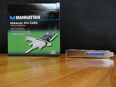 Manhattan Parallel PCI Card - NUOVO