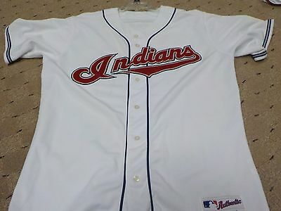 Grady Sizemore Cleveland Indians Game Used Game Worn Jersey