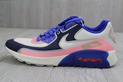 save off 44af7 b2968 21 New Womens Nike Air Max 90 Ultra 2.0 SI Blue Running Shoes 881108-101