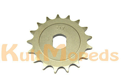 Sprocket 17Z 17 Teeth Pas for SIMSON S51 SR50 KR51 Schwalbe Tuning Long Sprocket