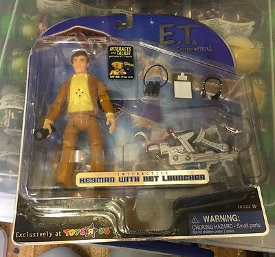 MOMC E.T. The Extra Terrestrial Interactive Keyman With Net Launcher