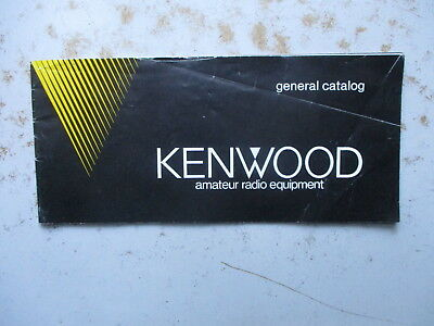 Kenwood Amateur Radio Equipment - General Catalog From Ca. 1982