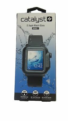 Open Box Catalyst Series 1 Waterproof Case and Band for Apple Watch 42mm - Black