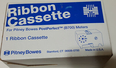 Ribbon Cassette For Pitney Bowes PostPerfect B700 Meter, 767-S