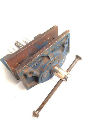 Vintage Vice Vise Record No 50 Clamp Woodworking Carpenter Tool MADE IN ENGLAND