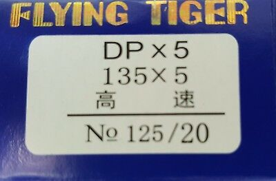 DPX5 125/20 Industrial Sewing Machine Needles