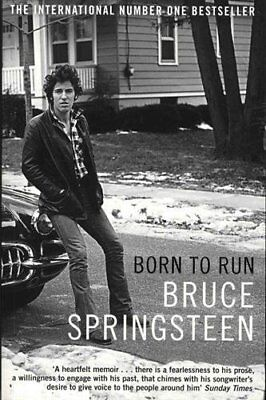 Born to Run by Bruce Springsteen Memoir Autobiography Paperback BRAND NEW BOOK