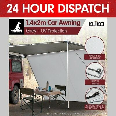 Wallaroo 2m x 1.4m Awning Extension Tent Camper Trailer 4WD 4X4 Camping Car