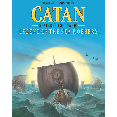 Catan 5th Edition Legend Of The Sea Robbers - Catan - New Board Game