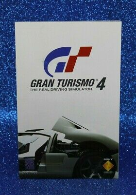 Instruction Booklet/Manual Only For Gran Turismo 4 Ps2 (No Game) ❄️ Oz Seller