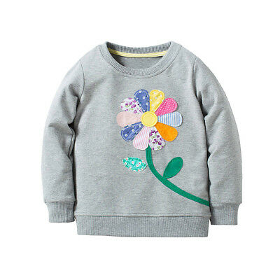 Baby Girls Long Sleeve Hoodie Sweatshirt Sweater Casual Hooded Pullover Kids Top
