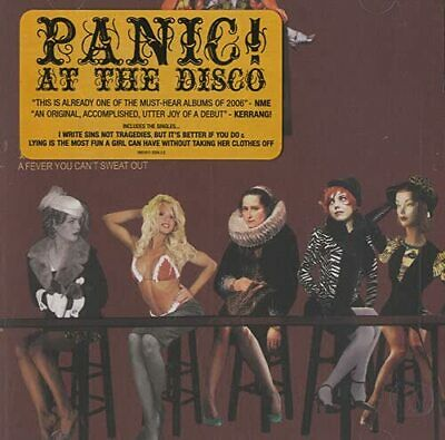 A Fever You Can't Sweat Out - Panic! At The Disco CD H2VG The Cheap Fast Free