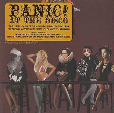 Panic! At The Disco - A Fever You Can't Sweat Out - Panic! At The Disco CD H2VG
