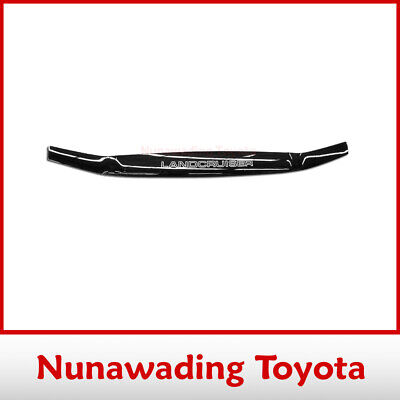New Genuine Toyota Landcruiser 100 Series Tinted Bonnet Protector 1/1998-8/2007
