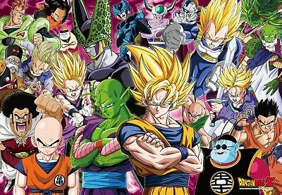 1000piece Jigsaw Puzzle and Dragon ball Z Bionic man Sell