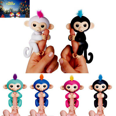 Mini Electronic Interactive Colorful Fingers Smart Baby Monkey Pet Kids Toys