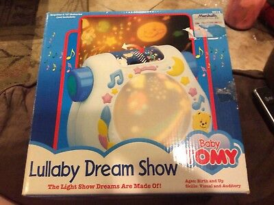 Brand New Baby Tomy Lullaby Dream Show Lights