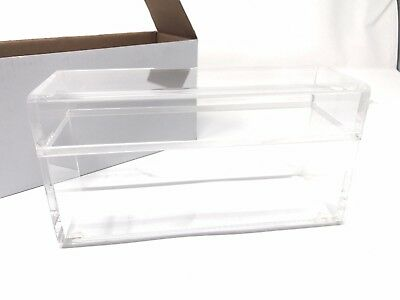 Clear Graded Certified Coin Holder (Slab) Storage Box (holds 20 NGC slabs) NEW