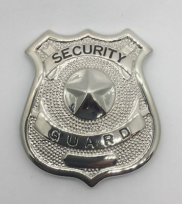 Security Guard Officer Metal Badge