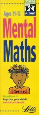 *Ten A Day: Mental Maths Age 11-12: Mental Maths Ages 1... by Hegarty. Paperback
