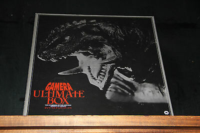 Gamera Ultimate Box LASERDISC NTSC CLV WS OBI LD DLZ-0213
