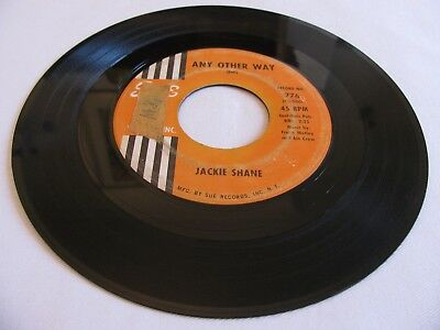 Jackie Shane - Any Other Way / Sticks And Stones - Sue