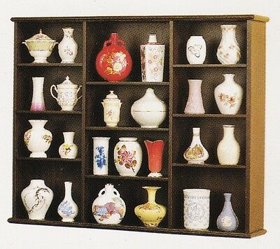 Miniature Vases of the World's Greatest Porcelain Houses Complete Set 25 Vases