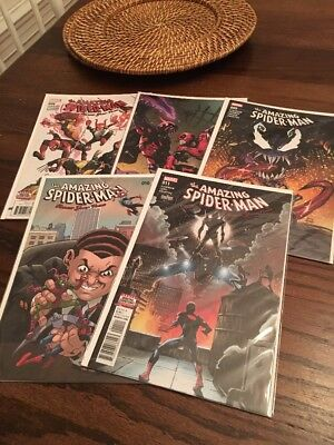Marvel Amazing Spider-Man Renew Your Vows 6-7 & 9-11 Conway Comic Run Lot 2017