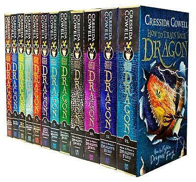 Hiccup How to Train Your Dragon Collection 10 Books Box Gift Set Cressida Cowell