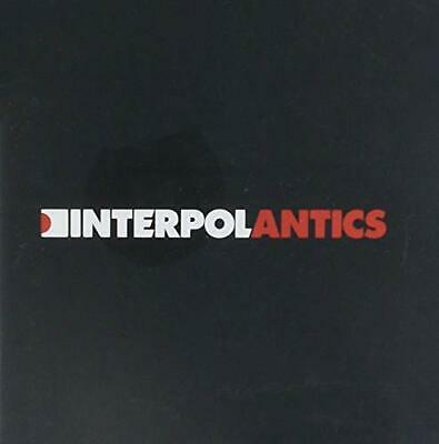 Interpol - Antics - Interpol CD HUVG The Cheap Fast Free Post The Cheap Fast