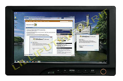 "8"" 16:9 Monitor Touchscreen  Ingressi Hdmi Vga Av Lilliput 869Gl-80Np/c/t"