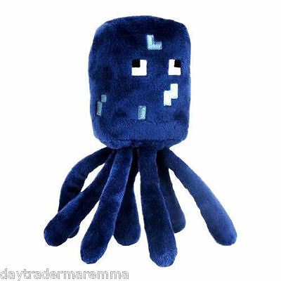 "**Special**MINECRAFT - 7"" Plush toy, Sqid #Item 16532"