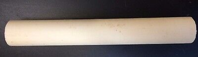 Woodturning - Ivory Coloured Polyester Round Pen Blank - 140mm x 20mm diameter