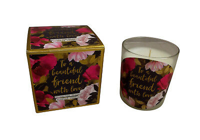 Beautiful Friend Gift Boxed Candle - Friends Gift idea - Friends Birthday Gift