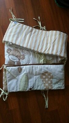 Baby Cot Cotton Bumper