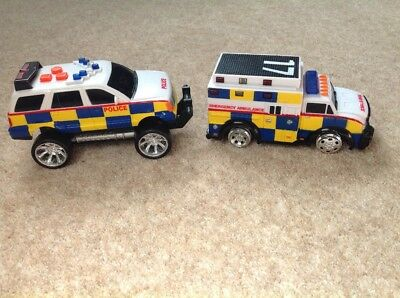 Big City Police Car & Ambulance from ELC